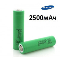 Аккумулятор Samsung INR18650-25R 2500mAh